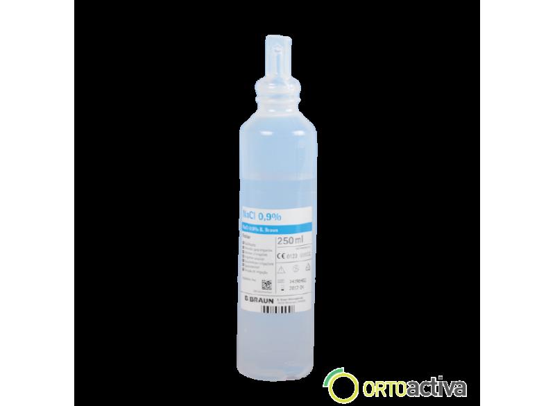 SUERO FISIOLOGICO PARA LAVADO 250 ml. ECOLAV (20 unid.) REF. 3570380