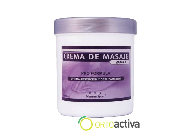 CREMA DE MASAJE BASE 500 ml REF 1581