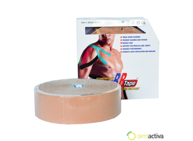 VENDAJE KINESIOLOGY BB TAPE BEIGE 5 x 32 m