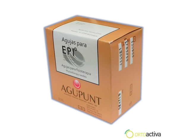 AGUJA DE EPI AGUPUNT  0,32 x 30 200 unid A1008AE 1013