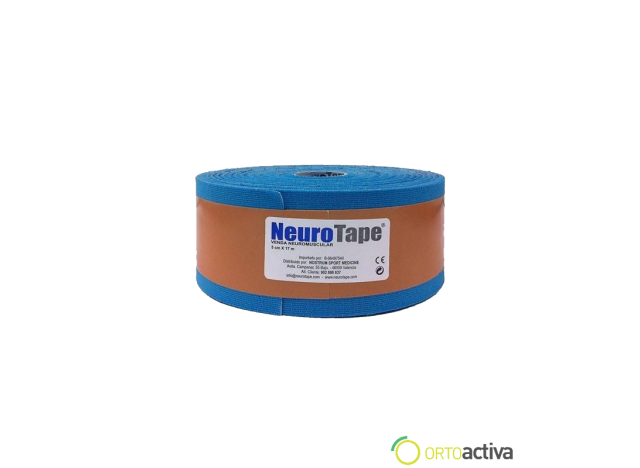 VENDAJE KINESIOLOGY NEUROTAPE AZUL 5 x 17 mt 1059