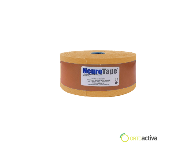 VENDAJE KINESIOLOGY NEUROTAPE BEIGE 5 x 17 mt 1059