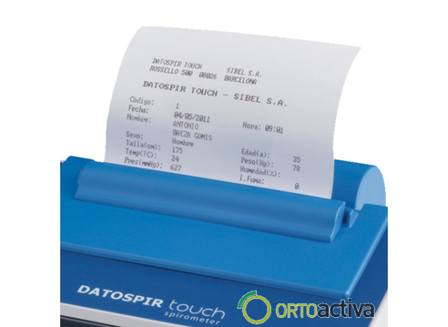 ESPIROMETRO DATOSPIR TOUCH EASY T + SOFTWARE W20s