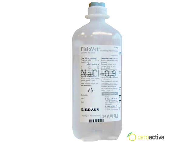 SUERO FISIOVET  500 ml.