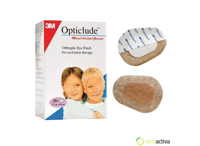 PARCHE OCULAR OPTICLUDE 1539F ADULTO (20 Unid.)