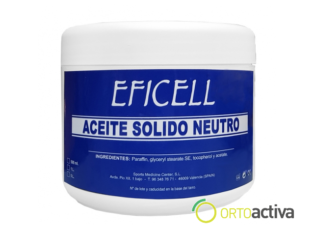 ACEITE SOLIDO NEUTRO 500 ml.