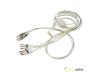 CABLE PACIENTE 10 TERMINALES IEC 4 mm. CARIDOLINE  REF. 63050025