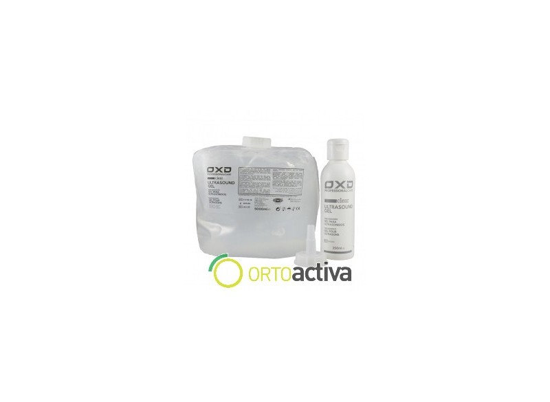 GEL ULTRASONIDOS 5000 ml. TRANSPARENTE ECO-GEL (garrafa flexible)