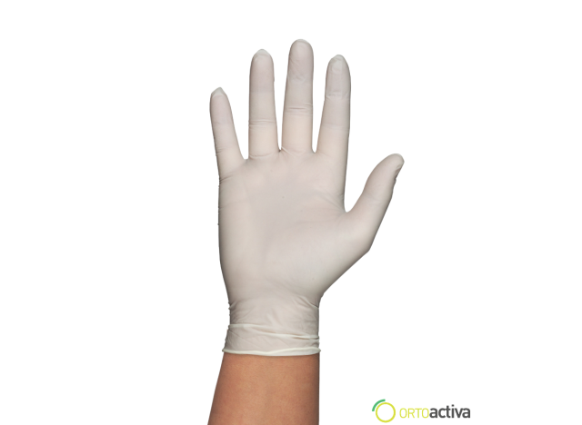 GUANTE LATEX GENTLE TOUCH CON POLVO T/G (100 unid.)