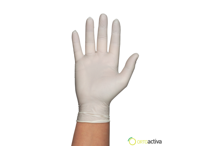 GUANTE LATEX GENTLE TOUCH SIN POLVO T/G (100 unid.)