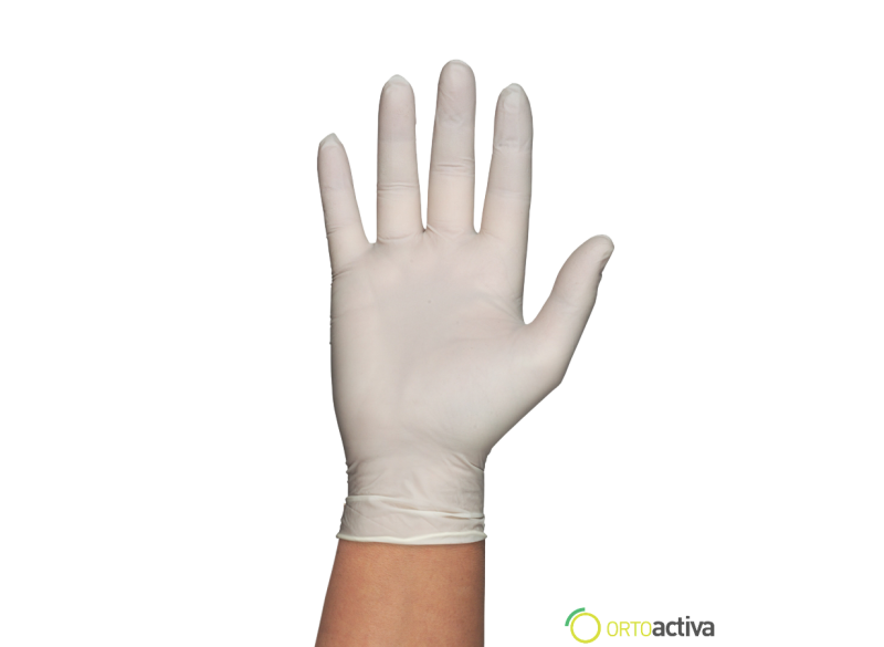 GUANTE LATEX GENTLE TOUCH SIN POLVO T/EG (100 unid.)