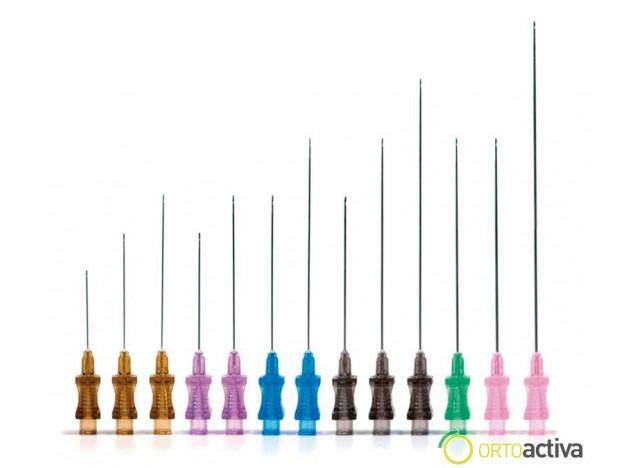 CANULA DE RELLENO FACIAL 30 G 0,30 x 25 mm. (20 unid.)