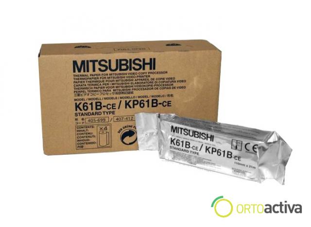 "PAPEL ECOGRAFO ""MITSUBISHI K61B""  REF. 1311004"