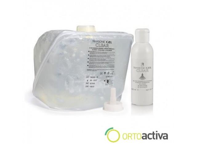 GEL ULTRASONIDOS 250 ml. TRANSONIC GEL CLEAR TRANSPARENTE REF. GC-15