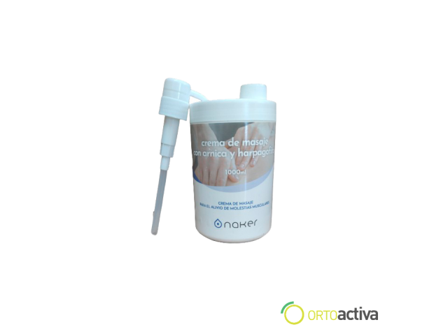 CREMA DE MASAJE NAKER ARNICA-HARPAGOFITO 1000 ml. REF. 78102