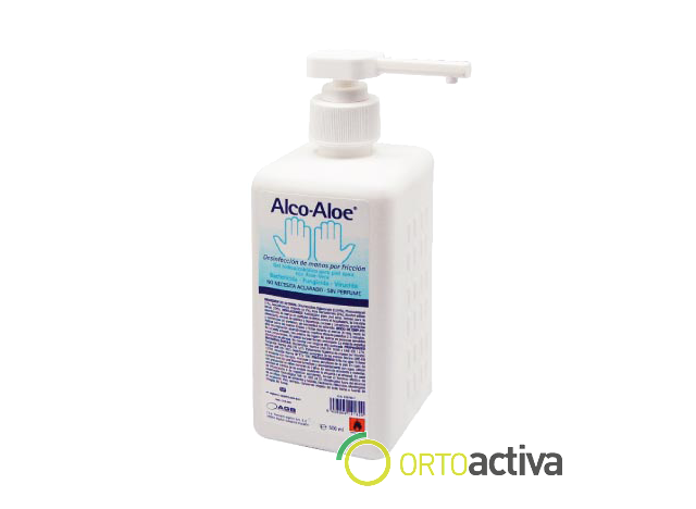 DESINFECTANTE DE MANOS ALCO ALOE GEL 500 ml. REF. 690191