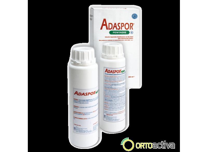 DESINFECTANTE PARA INSTRUMENTAL ADASPOR PENTADIE 280 ml. (120 ml. Solucion A y 160 ml. Solucion B)