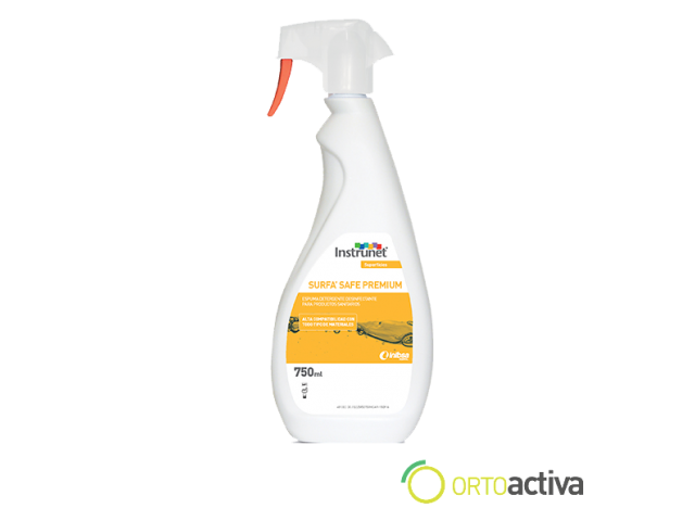 DESINFECTANTE PARA SUPERFICIES INSTRUNET SURFA SAFE PREMIUM 750 ml. REF. 4813