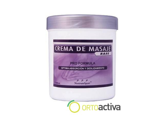 CREMA DE MASAJE BASE 500 ml REF 1581