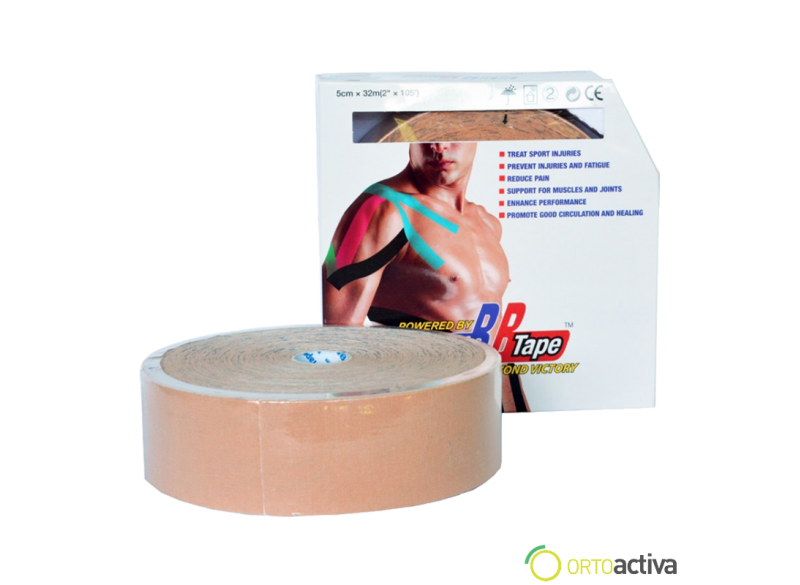 VENDAJE KINESIOLOGY BB TAPE BEIGE 5 x 32 m 1008
