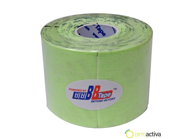 VENDAJE KINESIOLOGY BB TAPE VERDE LIMA 5 x 5
