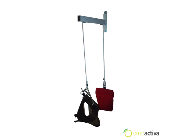 APARATO DE TRACCION CERVICAL DE PARED FM-097
