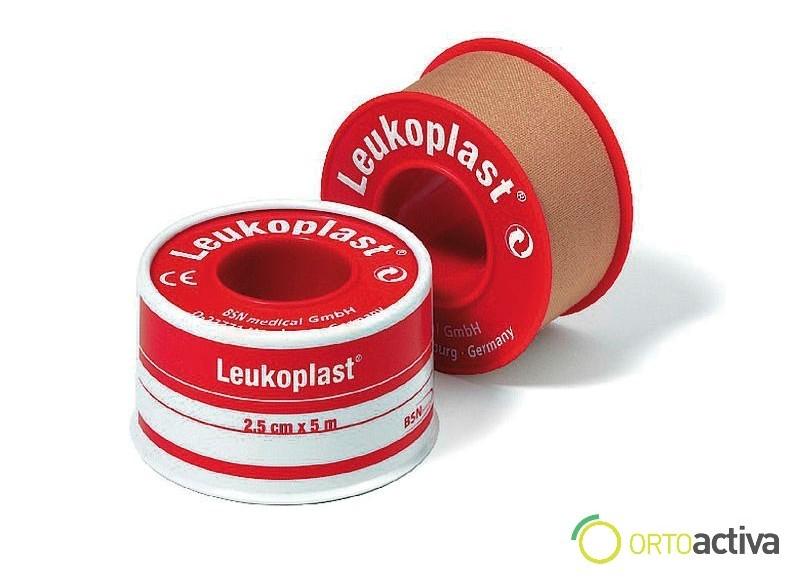 ESPARADRAPO TEJIDO POROSO LEUKOPLAST-S CARNE 5 x 5 REF 01534-00