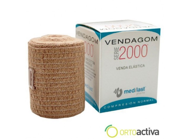VENDA ELASTICA DE COMPRESION VENDAGOM NORMAL 10 x 10