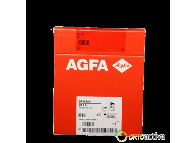 PLACAS AGFA DRYSTAR DT2 B 35 x 43 (100 unid.)