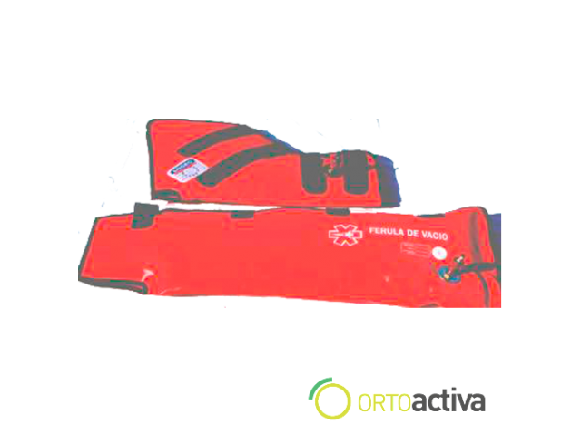 FERULAS DE VACIO (bolsa de 3 unidades y bomba)