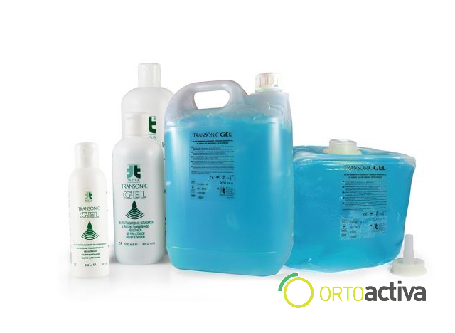 GEL ULTRASONIDOS 5000 ml. AZUL TRANSONIC (garrafa rigida) REF. G-15/5RB