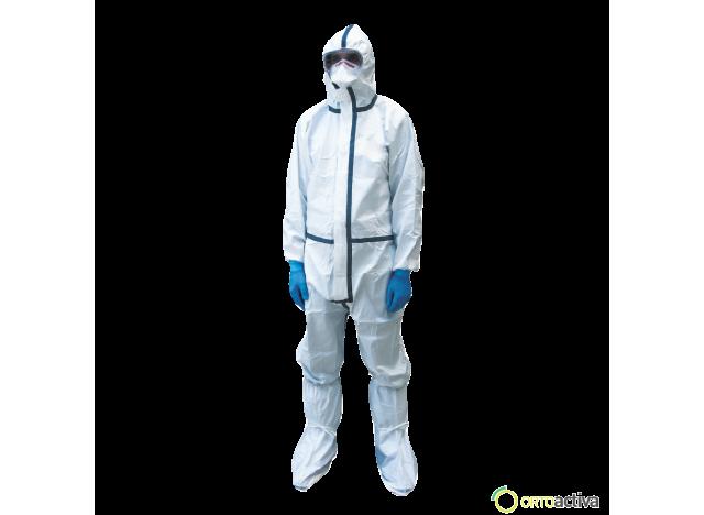 KIT DE PROTECCION FRENTE RIESGOS BIOLOGICOS T/L REF. EPIRB2aD (Se suministra con el buzo/traje con nivel de Protección 4)