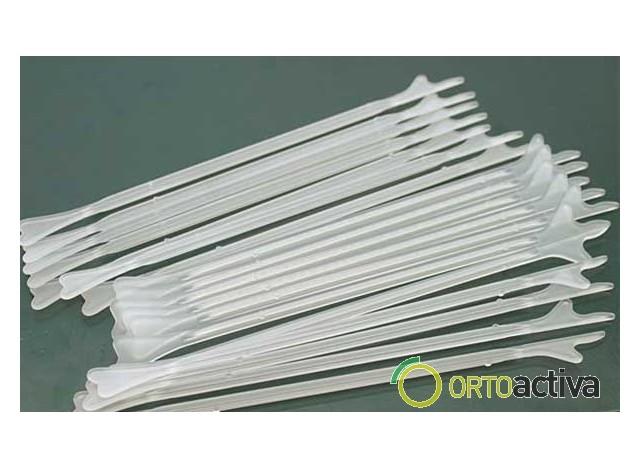 ESPATULA PLASTICO ESTERIL MULTIPARAS 100 Unid REF EE1019