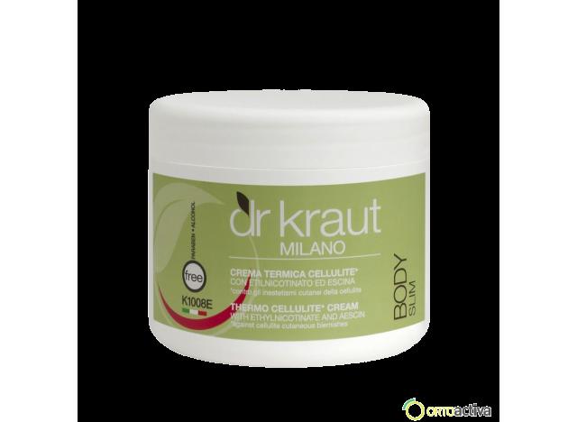 CREMA ANTICELULITICA TERMOACTIVA DR. KRAUT 500 ml. REF K1008E