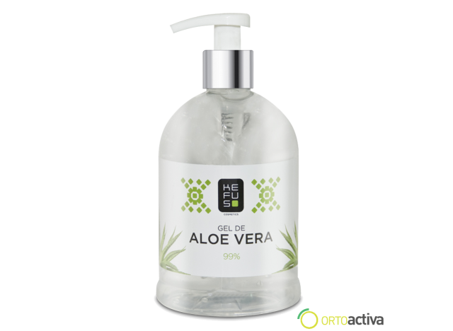 GEL CRISTAL DE ALOE VERA KEFUS  500 ML. NATURAL