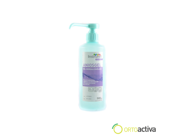 DESINFECTANTE DE MANOS INSTRUNET ANIOSGEL 500 ml. REF. 630-03
