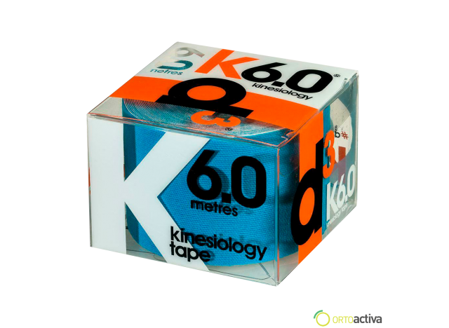 VENDAJE KINESIOLOGY D3 K6.0 AZUL 5 x 6