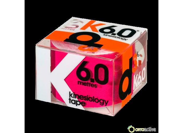 VENDAJE KINESIOLOGY D3 K6.0 ROSA 5 x 6