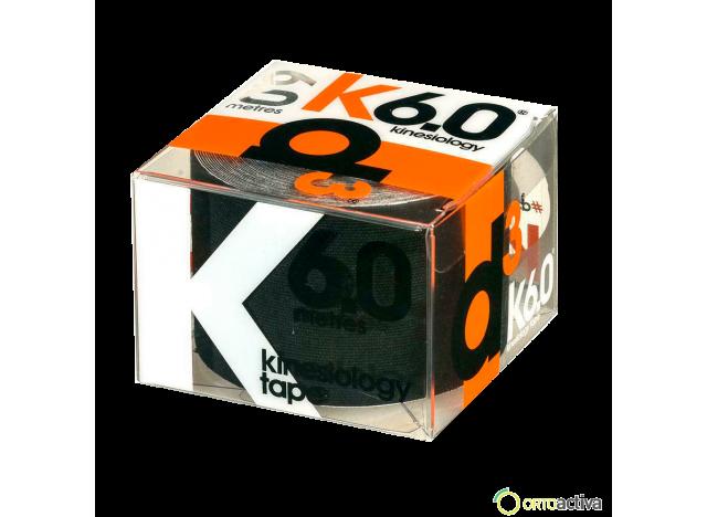 VENDAJE KINESIOLOGY D3 K6.0 NEGRO 5 x 6