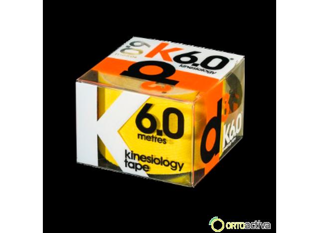 VENDAJE KINESIOLOGY D3 K6.0 AMARILLO 5 x 6