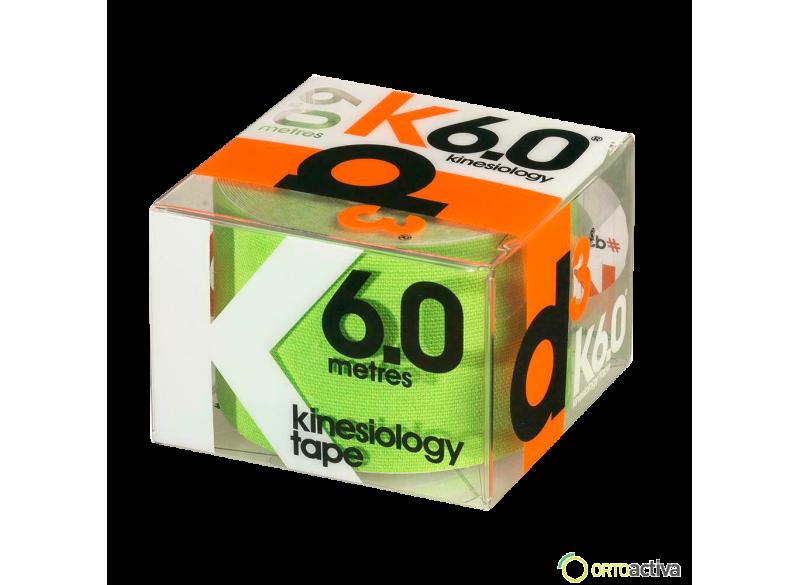 VENDAJE KINESIOLOGY D3 K6.0 VERDE 5 x 6