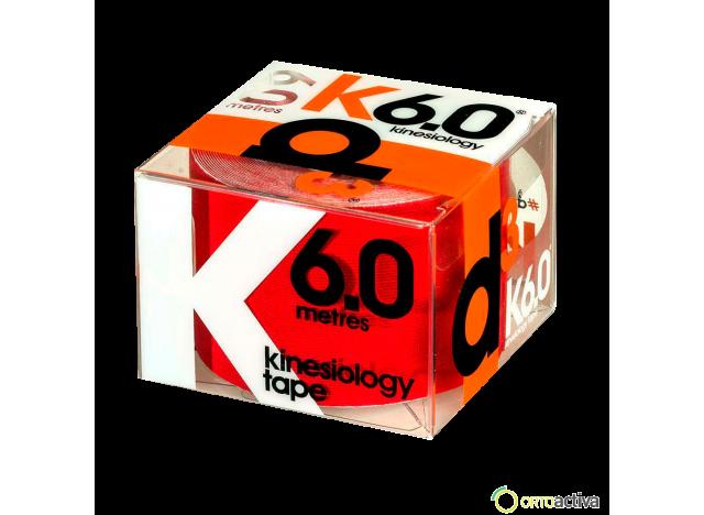 VENDAJE KINESIOLOGY D3 K6.0 ROJO 5 x 6