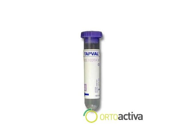 TUBO TAPVAL MONOIODO ACETATO LITIO CON GRANULOS TAPON GRIS CLARO 4 ml. (100 Unid.) REF. 1581524