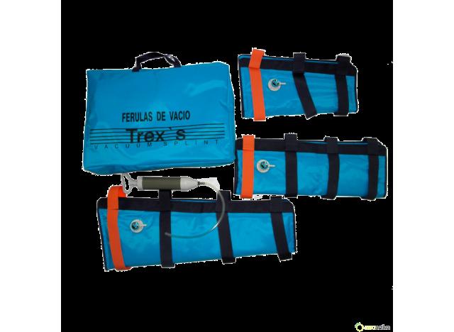 FERULAS DE VACIO TREX-SPLINT ADULTO (bolsa de 3 unidades y bomba) REF. 5010A3