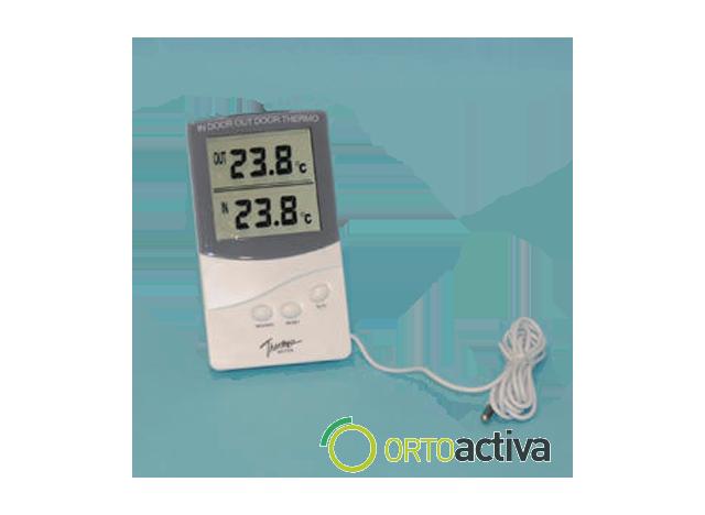 TERMOMETRO DIGITAL PARA AMBIENTE, FRIGORIFICO O CONGELADOR  MAXIMA-MINIMA -40º/+70º CON SONDA REF. 700477 KJM016
