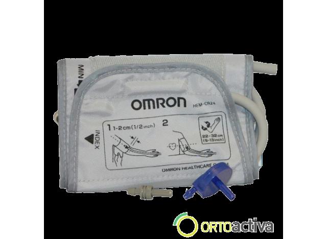 BRAZALETE PARA TENSIOMETRO OMRON 22-42 cm. CON CONECTORES (M3/BASIC M2)