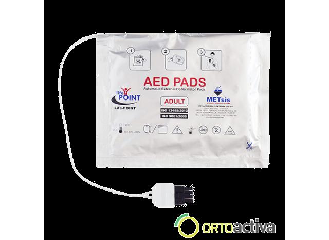 ELECTRODO DESFIBRILADOR PAD DEF. LIFEPOINT PRO AED S/2 CAB